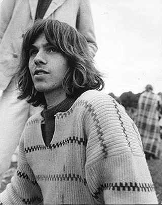 Peter at the festival, 1971